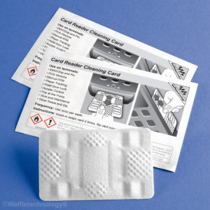 EMV Card Reader Cleaning Cards-Package of Four