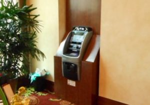 Custom Wood ATM Enclosure Cabinet