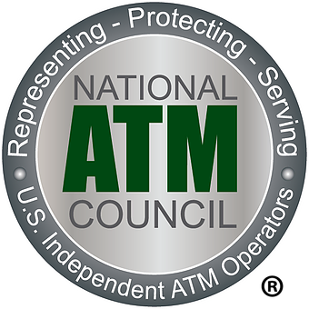 ATM's America provides ATM machines and is a member of the National ATM Council