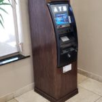 Custom Wood ATM Enclosure Cabinet