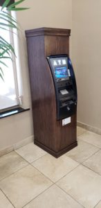 Custom Wood ATM Enclosure