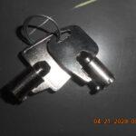Hyosung Bezel and Cassette Keys
