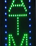 LED ATM Sign With Vertical Lettering