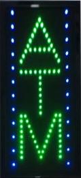 Vertical LED ATM Sign