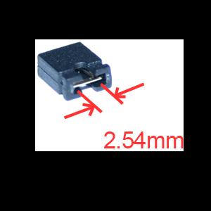 JUMPER, MINI, 2PIN, 01″ (2.54MM) SPACE