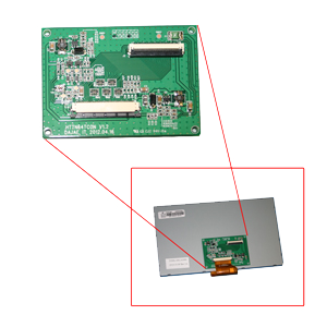 """LCD Tcon Board for 8"""" LCD display"""